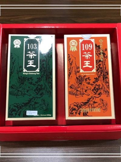 King's Ginseng Oolong Tea Set (300g each)