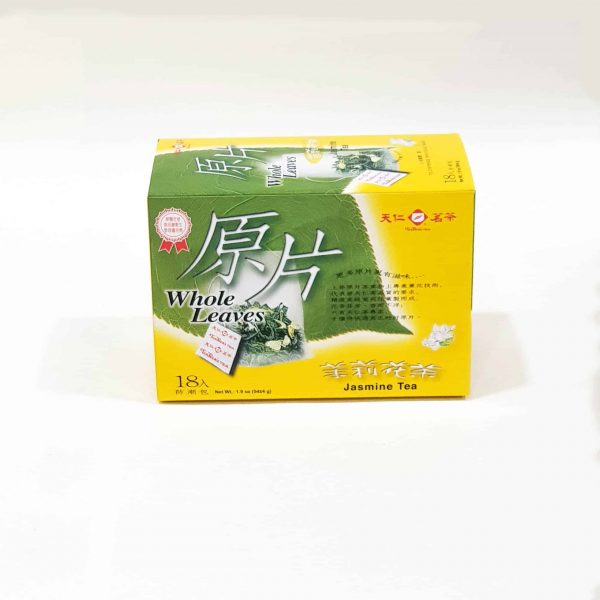 Jasmine Tea Bags ( Whole Leaves 18 pk)