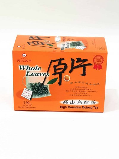 High Mt. Oolong Tea Bags ( Whole Leaves)