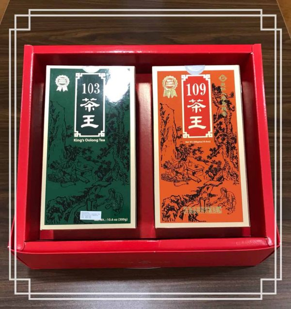 King's Ginseng Oolong Tea Set (103/109 300g each)