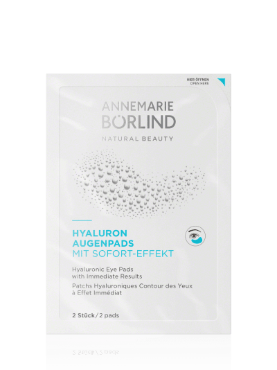HYALURONIC EYE PADS with Immediate Results